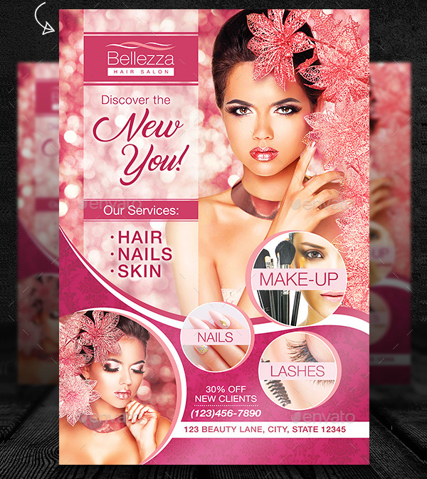 Perfect Hair Salon Flyer Template