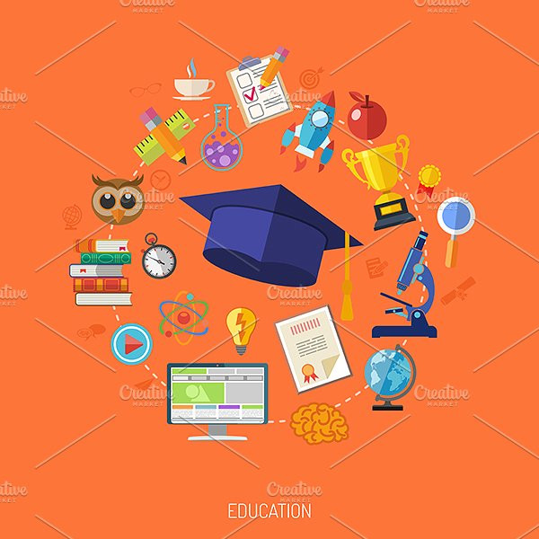 Education & Marketing Banners