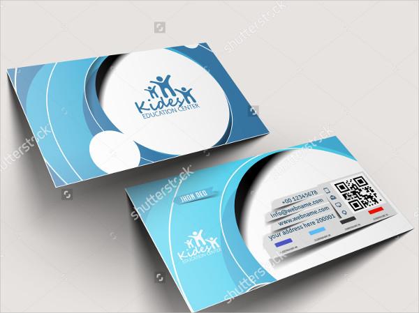 Education Centre Business Card