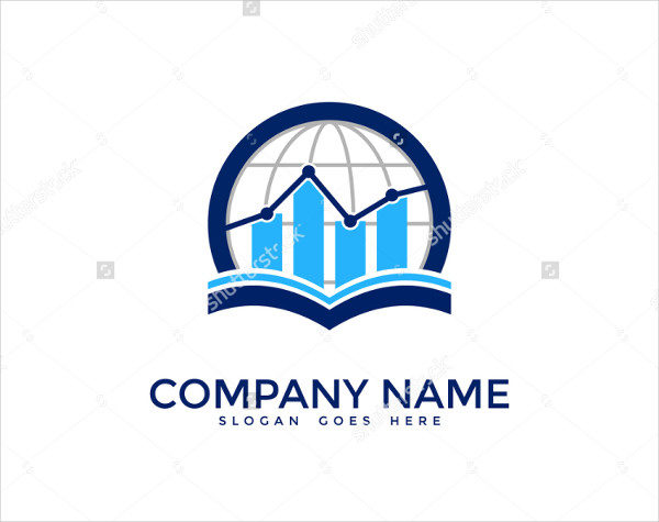 Global Finance Report Logo Template