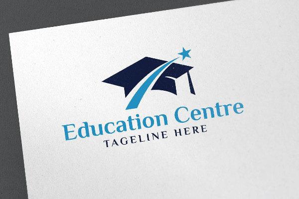 Education Center Logo Template
