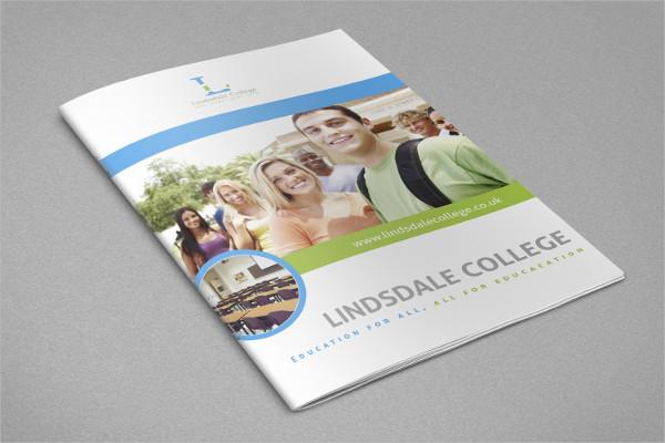 Elegant School & Educational InDesign Brochure