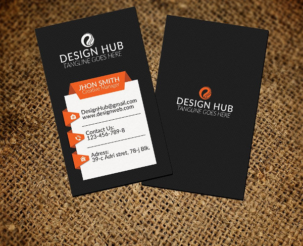 Education Vertical Business Cards