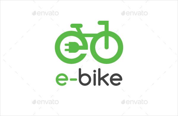 Electric Bike Logo Template