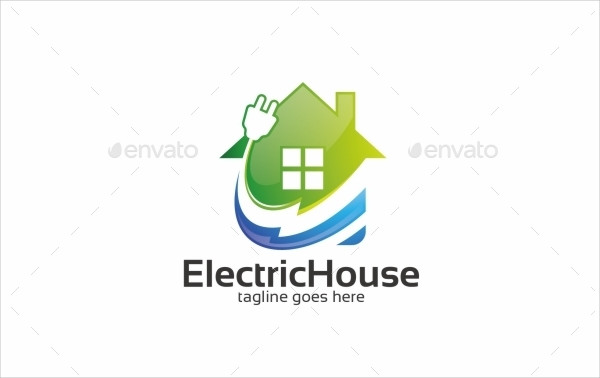Electric House - Logo Template