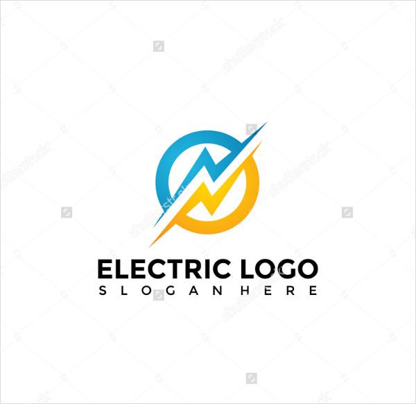 General Electric Logo Template Vector Illustration