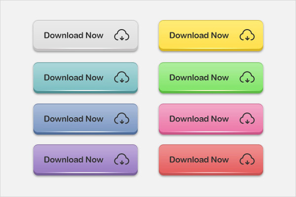 Elegant 3D Download Buttons