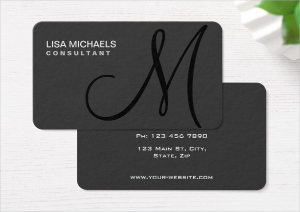 Elegant Artist Business Card Template