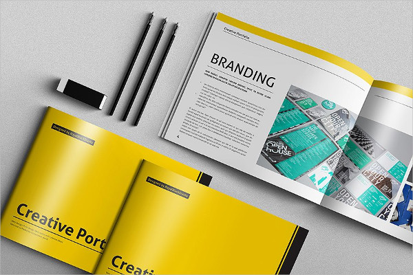 Fully Editable Portfolio Promotion Brochure Template
