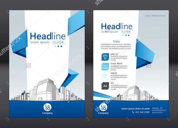 Design Brochure Template for Architecture