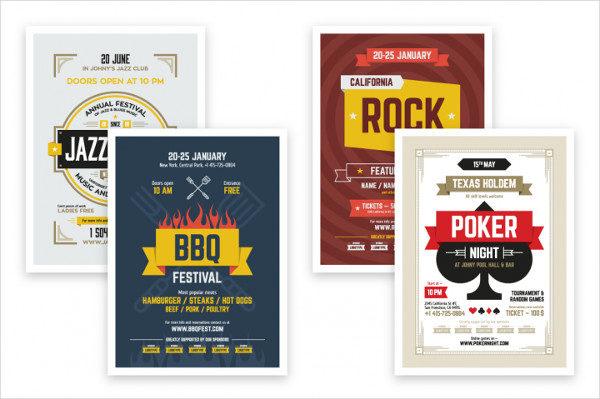 Event Posters Bundle & Freebie
