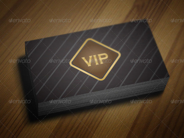 Exclusive VIP Loyalty Card Template
