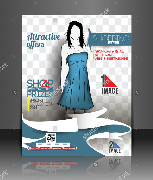 Fashion Center Flyer Template