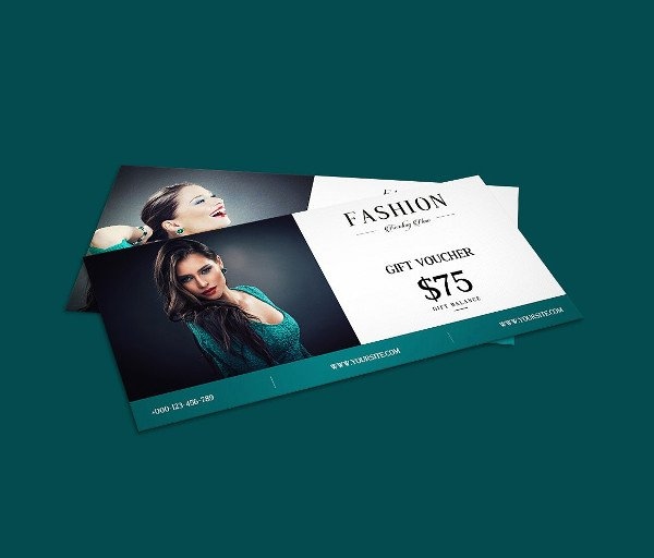 Fashion Design Gift Voucher