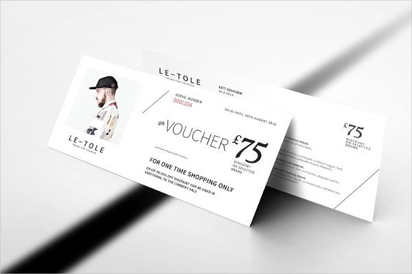 Fashion Gift Card Voucher