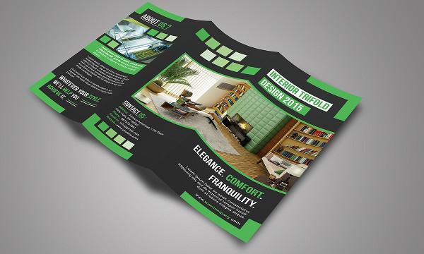 Fashion Interior Trifold Brochure