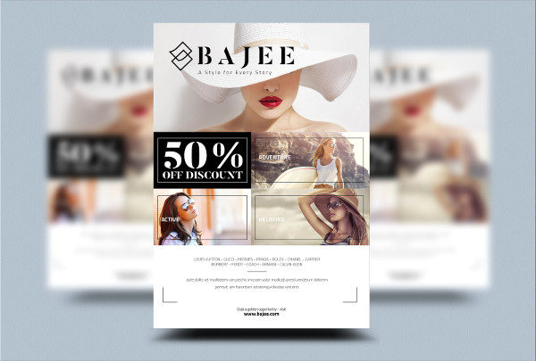 Custom Fashion Flyer Design