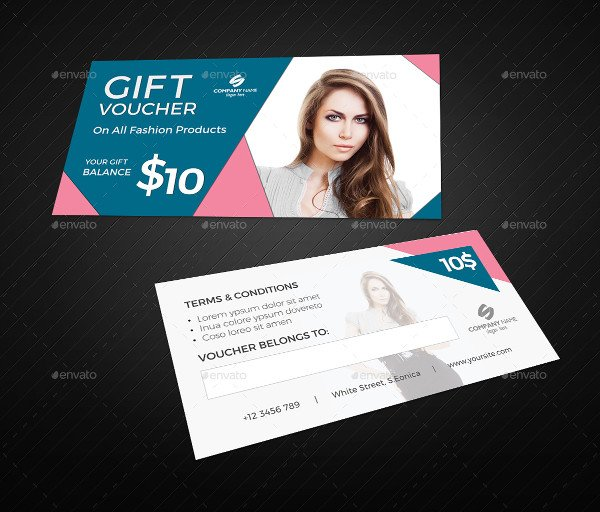 Fashion Promotional Gift Voucher