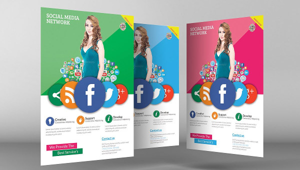 25 social media marketing flyer templates free premium download