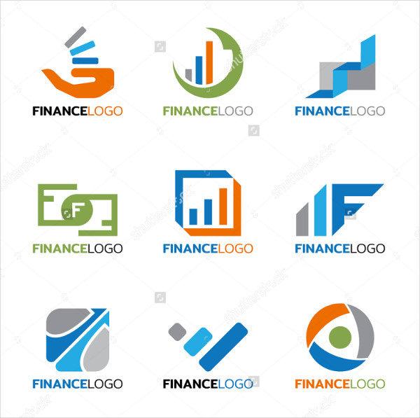 Set of Finance Logos Vector