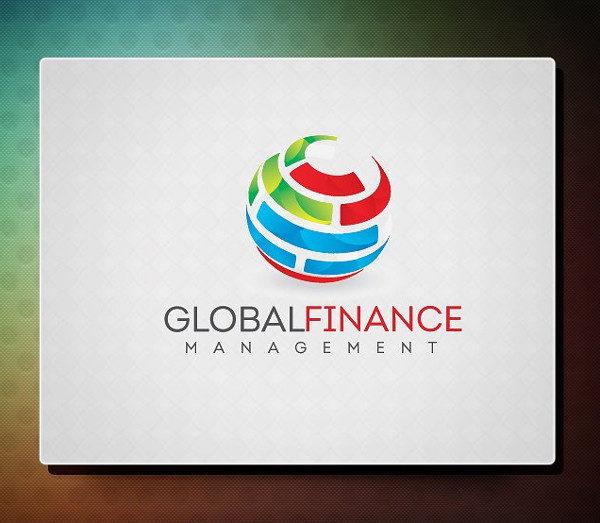Global Finance Logo Template