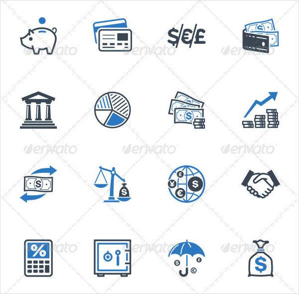 16 Finance Presentation Icons