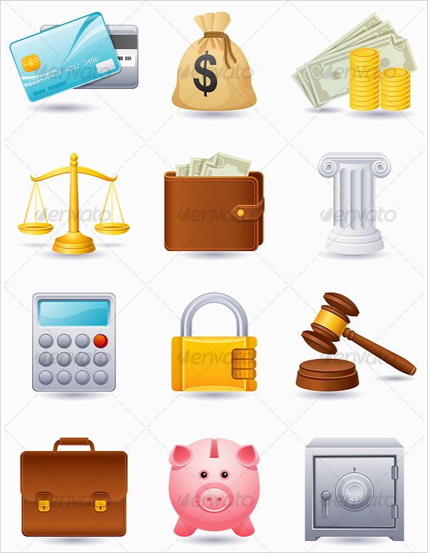 Vector Illustration Finance Icon