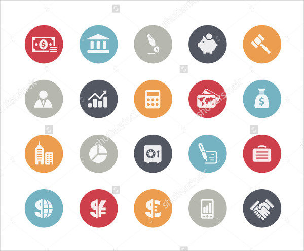 Business & Finance Icons in Classic Series