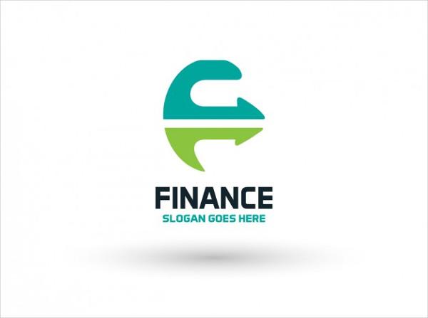 Financial Company Logo Template Free Vector