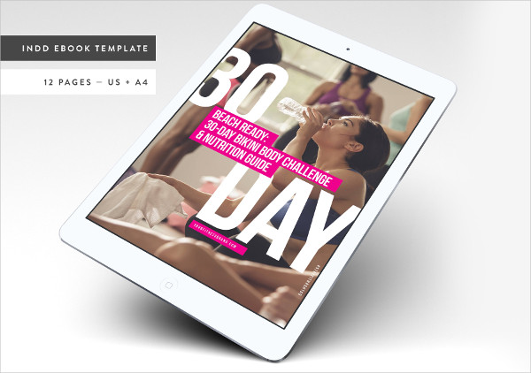 Fitness Bold Ebook Templates