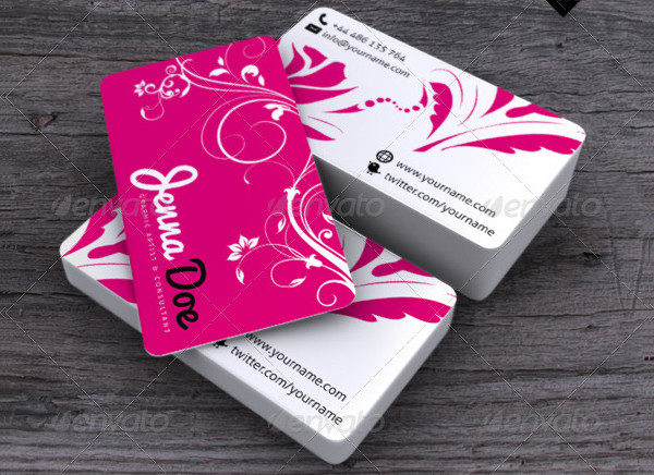 Flower Power Business Card