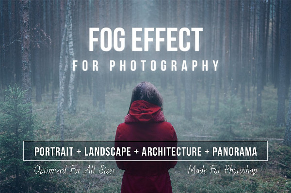 Fog Effect Photoshop Actions