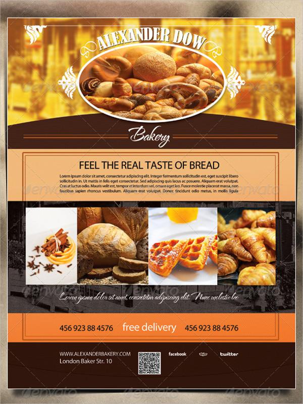 Print Ready Bakery Shop Flyer