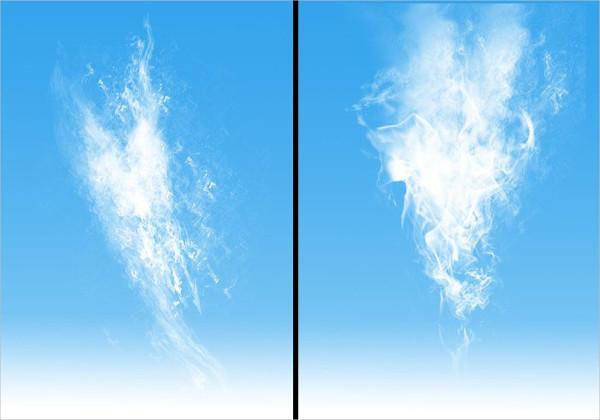 Cloudy Brushes Photoshop Free