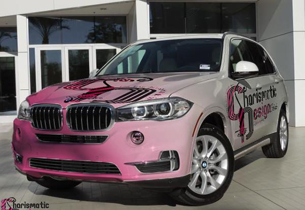Free BMW Car Wrap Mockup