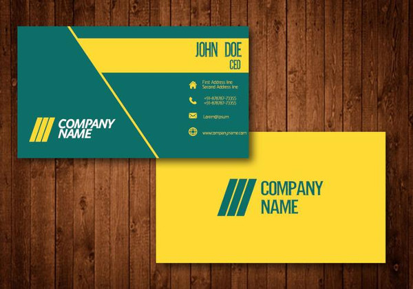 Free Creative Business Card Template for Car Wash