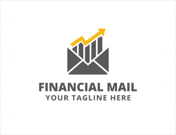 Free Financial Mail Logo Template