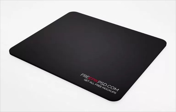 Free PSD Game Mouse Pad Mock-Up