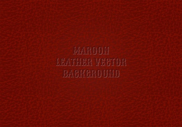 Free Maroon Leather Background Vector