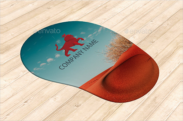 Fully Layered Mouse Pad Mock-Ups
