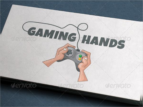Gaming Hands Logo Template