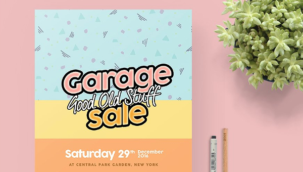 27+ Garage Sale Flyers