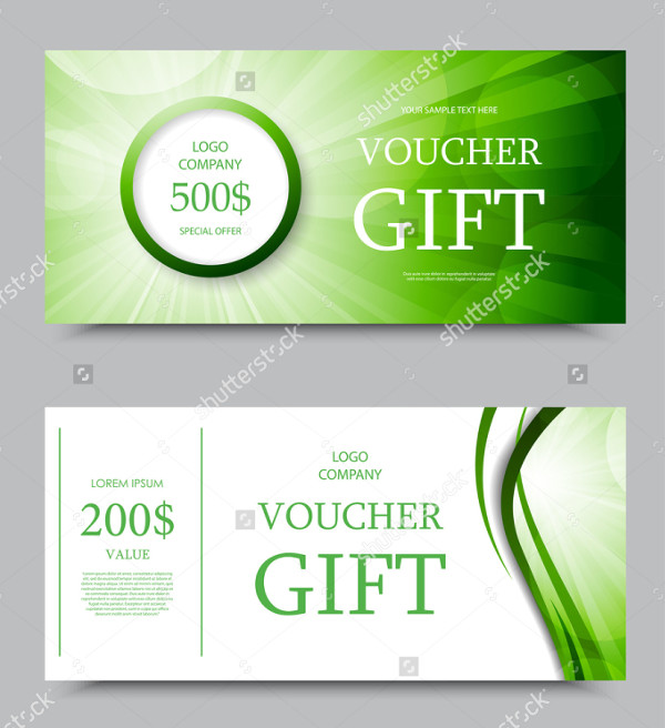 Company Gift Voucher Templates