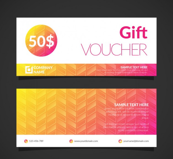 Free Editable Gift Voucher Template