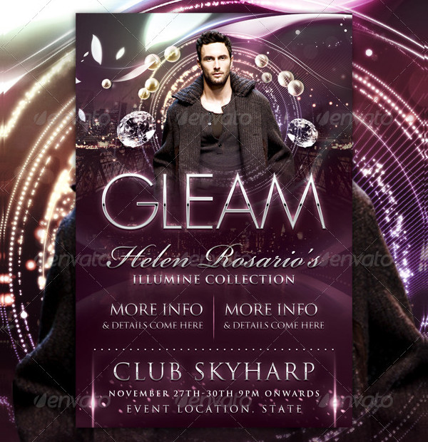 Gleam Fashion Flyer Template
