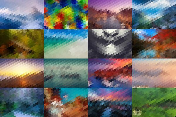 HD Mosaic Background