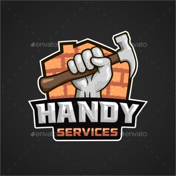 Handy Services Logo Template
