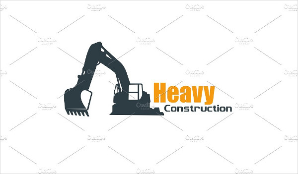 Heavy Constructions Logo Template
