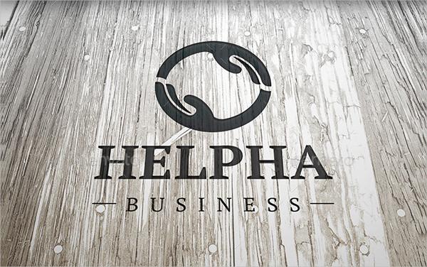 Help Hand Business Logo Template