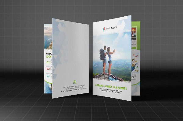 Holiday Travel Agency Brochures